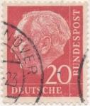 Sellos de Europa - Alemania -  Scott Nº 710