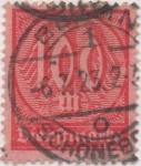 Stamps Germany -  Scott Tx Nº 36