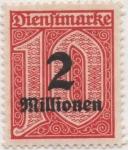 Stamps Germany -  Scott Tx Nº 46