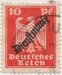 Sellos de Europa - Alemania -  Scott Tx Nº 70