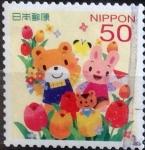 sellos de Asia - Japón -  Scott#3508d jxa Intercambio 0,50 usd 50 y. 2013