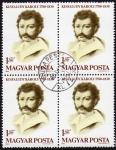 Sellos de Europa - Hungría -  INT-BLOQUE KISFALUDY KÁROLY 1788-1830