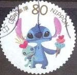 sellos de Asia - Japón -  Scott#3494i Intercambio 0,90 usd 80 y. 2012