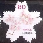 Sellos de Asia - Japón -  Scott#3645a jxa Intercambio 1,25 usd 80 y. 2014