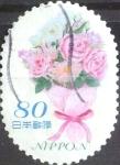 sellos de Asia - Japón -  Scott#3645c Intercambio 1,25 usd 80 y. 2014