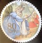 Stamps Japan -  Scott#3317d Intercambio 0,90 usd  80 y. 2011