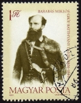 Stamps Hungary -  INT-BARABAS MIKLOS (1806-1849)