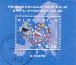 Stamps Slovenia -  PRESIDENCIA ESLOVENA DE LA UNIÓN EUROPEA