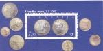 Sellos de Europa - Eslovaquia -  MONEDA € ESLOVAQUIA