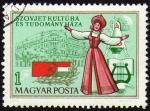 Stamps Hungary -  COL-SZOVJET KULTÚRA ÉS TUDOMÁNNY HÁZA