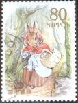 Stamps Japan -  Scott#3317e nfyb2 Intercambio 0,90 usd  80 y. 2011