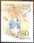 sellos de Asia - Japón -  Scott#3317f jxa Intercambio 0,90 usd  80 y. 2011