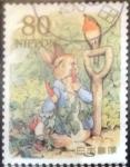 sellos de Asia - Japón -  Scott#3317h Intercambio 0,90 usd  80 y. 2011