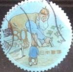 Stamps Japan -  Scott#3317i Intercambio 0,90 usd  80 y. 2011