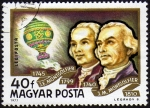 Stamps : Europe : Hungary :  COL-HERMANOS MONTGOLFIER