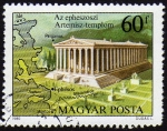 Stamps : Europe : Hungary :  COL-MAPA GRECIA ANTIGUA