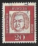 Sellos de Europa - Alemania -  Johann Sebastian Bach