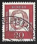 Stamps Germany -  Johann Sebastian Bach