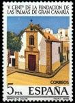 Stamps Spain -  V CENTENARIO DE LAS PALMAS DE GRAN CANARIA