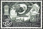 Stamps Spain -  DIA DEL SELLO-1978