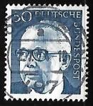 Sellos de Europa - Alemania -  Dr. h.c. Gustav Heineman