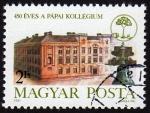 Sellos de Europa - Hungría -  COL- 450 ÉVES A PÁPAI KOLLÉGIUM