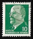 Stamps Germany -  Ulbricht, Walter