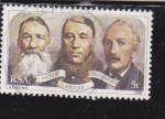 Stamps South Africa -  Joubert-Kruger-Pretorius