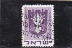 Stamps Israel -  Escudo de Netanya