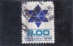 Sellos de Asia - Israel -  estrella de David