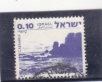 Stamps Israel -  Panorámica de Caesarea