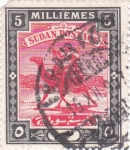 Stamps Sudan -  Mercader