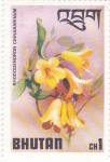 Stamps : Asia : Bhutan :  Flores-