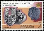 Stamps Spain -  VISITA DE LOS REYES DE ESPAÑA A HISPANOAMÉRICA