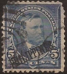 Stamps : Asia : Philippines :  Ulysses S Grant  1899  5 cents