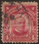 Stamps : Asia : Philippines :  William McKinley  1906  4 cents