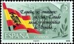 Stamps Spain -  PROCLAMACION DE LA CONSTITUCIÓN ESPAÑOLA