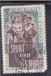 Sellos de Africa - República del Congo -  El deporte une a los pueblos