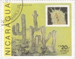 Stamps Nicaragua -  Captus (saguaros)