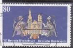 Sellos de Europa - Alemania -   787 Bremen Bischofssitz