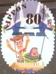 Stamps Japan -  Scott#3573h Intercambio 1,25 usd 80 y. 2013