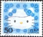 Sellos de Asia - Japón -  Scott#2883f Intercambio 0,65 usd 50 y. 2004