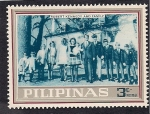 Stamps Philippines -  Robert Kennedy y Familia