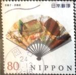 Stamps Japan -  Scott#3484f Intercambio 0,90 usd  80 y. 2012