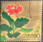 Sellos de Asia - Japón -  Scott#2853b Intercambio 1,00 usd  80 y. 2003
