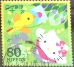 Stamps Japan -  Scott#3145d Intercambio 0,90 usd  80 y. 2009