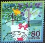 Sellos de Asia - Japón -  Scott#3145e Intercambio 0,90 usd  80 y. 2009