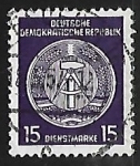 Stamps Germany -  Official Stamps for Administration Post B