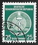 Sellos de Europa - Alemania -  Official Stamps for Administration Post B