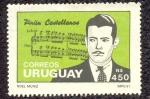 Sellos de America - Uruguay -  PINTIN CASTELLANOS
